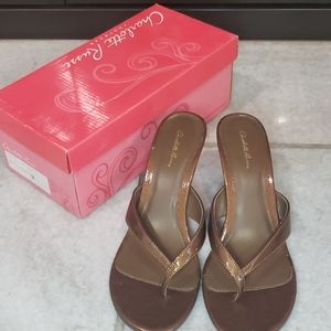 Women's Charlotte Russe Sandals Size 8